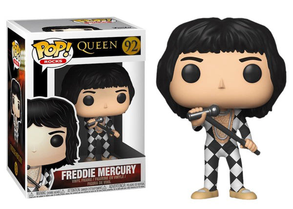 Freddie Mercury (Checker, Queen) 92  [Damaged: 7.5/10]