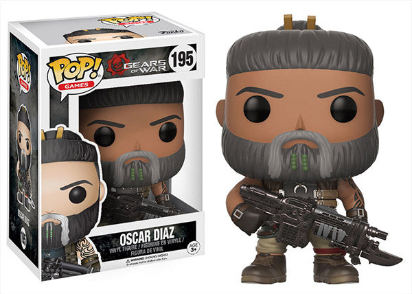 Oscar Diaz (Gears of War) 195  [Damaged: 7.5/10]