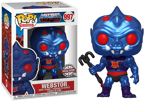 > Webstor (Metallic, Masters of the Universe) 997 - Special Edition Exclusive