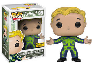 Adamantium Skeleton (Vault Boy) 99 - Hot Topic Exclusive  [Damaged: 7.5/10]