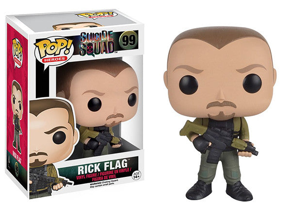 Rick Flag 99 Pop Head