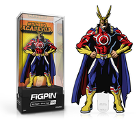 FiGPiN My Hero Academia - All Might Silver Age 150 (hard case)