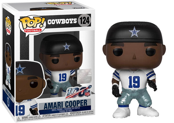 Amari Cooper (Wave 5, Dallas Cowboys, NFL) 124 [Damaged: 7/10]