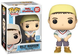 Billy Madison (White Sweater) 897 - Funko Shop Excusive  [Damaged: 7.5/10]