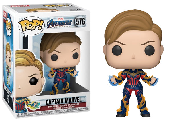 Captain Marvel (Endgame) 576  [Damaged: 7.5/10]