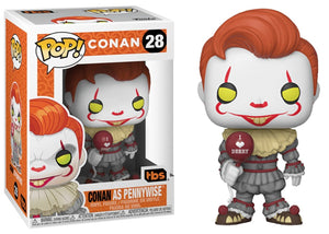 Conan As Pennywise (Team Coco/TBS) 28 [Condition: 8.5/10]