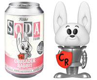 Funko Soda Crusader Rabbit (sealed) **Shot at Chase**