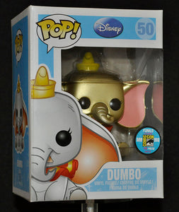 Dumbo (Gold) 50 - 2013 SDCC  Exclusive /48 made  [Condition: 9/10]