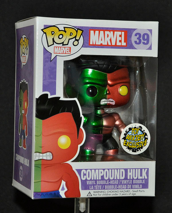 Compound Hulk (Metallic)  39 - Toy Anxiety Exclusive [Condition: 7.5/10]