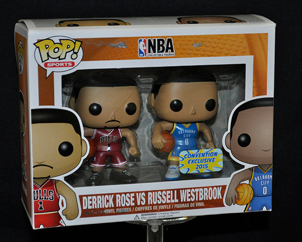 Derrick Rose vs Russell Westbrook (NBA) 2-pk - 2015 Convention Exclusive  [Condition: 7.5/10]