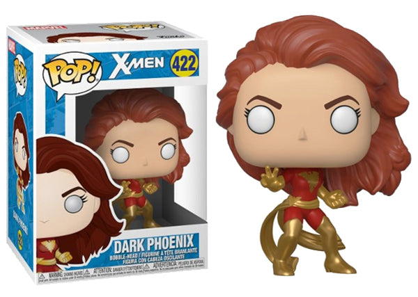 Dark Phoenix (Action Pose, X-Men) 422 [Damaged: 7.5/10]