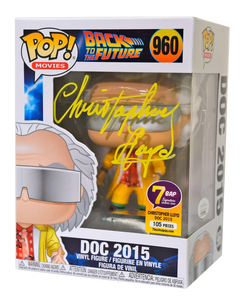 Signature Series Christopher Lloyd Signed Pop - Doc Brown (Back to the Future)