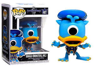 Donald (Monster's Inc. Kingdom Hearts) 487 [Damaged: 7.5/10]