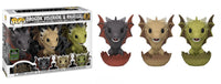 Drogon, Viserion, & Rhaegal (Hatching, Game of Thrones) 3-pk - 2020 Spring Convention Exclusive  [Condition: 9.5/10]