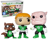 Ch'P, Guy Gardner & Kilowog (Green Lantern) 3-pk - Legion of Collectors Exclusive  [Damaged: 7.5/10]