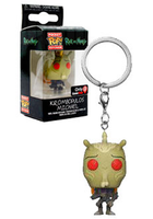 Pocket Pop Keychain Krombopulos Michael (Rick & Morty) - Gamestop Exclusive