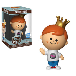 > Vinyl Freddy Funko HQ Globe - Funko Shop Exclusive