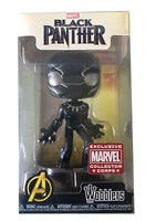 Funko Wacky Wobblers Black Panther - Marvel Collectors Corps Exclusive  [Damaged: 7.5/10]