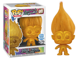 > Gold Troll (Diamond Collection) 08 - Funko Shop Exclusive