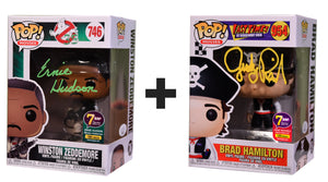 Signature Series 80's Double Feature Bundle - Ernie Hudson & Judge Reinhold Signed Pops