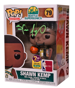 Signature Series Shawn Kemp Signed Pop - NBA Seattle Supersonics