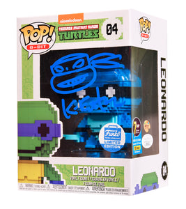 Signature Series Kevin Eastman Signed Pop - Leonardo