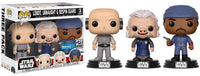 Lobot, Ugnaught & Bespin Guard (Cloud City) 3-pk - Walmart Exclusive  [Damaged: 7/10]