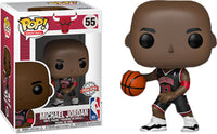Michael Jordan (Black Jersey, Chicago Bulls, NBA) 55 - Special Edition Exclusive  [Damaged: 7.5/10]