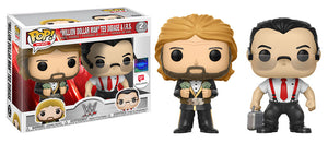 """Million Dollar Man"" Ted Dibiase & I.R.S. (WWE) 2-pk - Walgreens Exclusive"