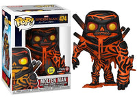 Molten Man (Far From Home, Glow in the Dark) 474 - GameStop Exclusive  [Damaged: 7/10]