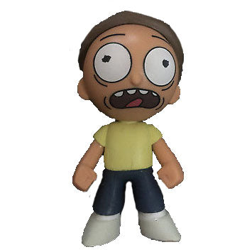 Mystery Minis Rick and Morty Series 1 - Morty (Scared, Hot Topic Exclusive)