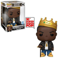 > Notorious B.I.G. (w/Crown, 10-Inch, Rocks) 162 - Funko Shop Exclusive