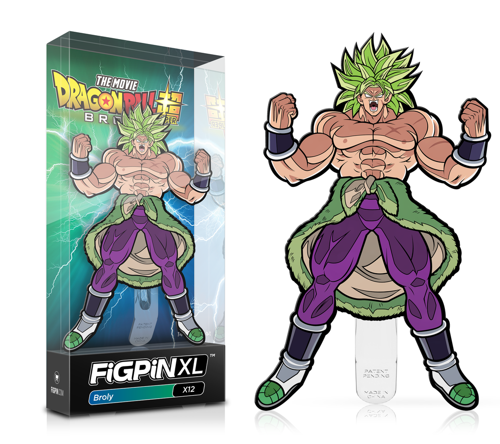 FiGPiN Dragon Ball Z - Broly XL X12