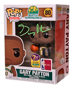 Signature Series Gary Payton Signed Pop - NBA Seattle Supersonics