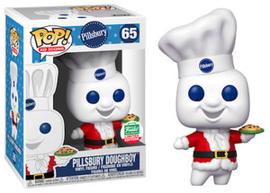 > Pillsbury Doughboy (Santa Suit, Ad Icons) 65 - Funko Shop Exclusive