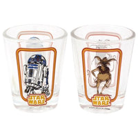 R2-D2 & Salacious B. Crumb Shot Glasses (2-Pack) - Smuggler's Bounty Exclusive