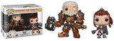 Reinhardt and Brigitte (Overwatch) 2-pk -  Blizzard SDCC Booth Exclusive  [Damaged: 7/10]