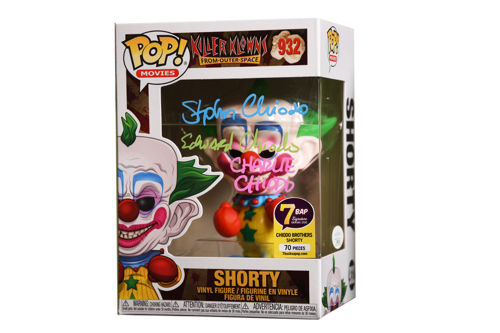 Signature Series Chiodo Brothers Signed Pop - Shorty (Killer Klowns from Outer Space)