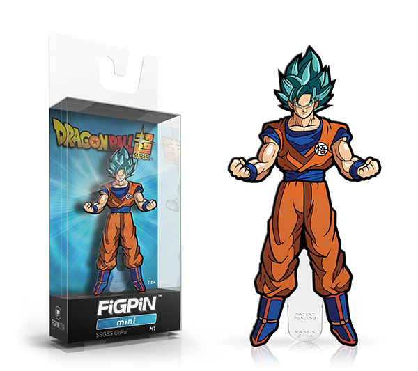 FiGPiN Dragon Ball Z- SSGSS Goku Mini M1