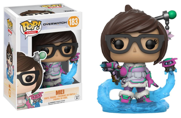 Mei (Mid-Blizzard, Overwatch) 183  [Damaged: 7/10]
