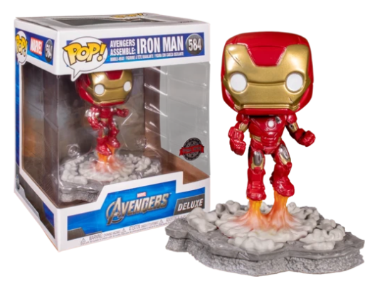 Avengers Assemble: Iron Man (Deluxe, Avengers) 584 - Special Edition Exclusive [Condition: 7.5/10]