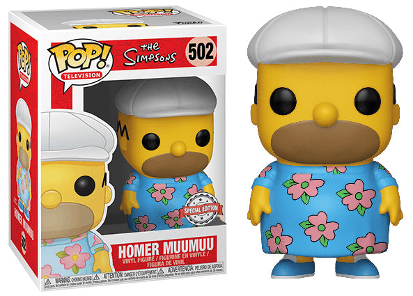 Homer Muumuu (The Simpsons) 502 - Special Edition Exclusive [Damaged: 7.5/10]