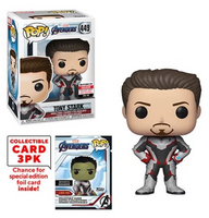 Tony Stark (w/Trading Cards, Endgame) 449 - Entertainment Earth Exclusive