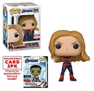 > Captain Marvel (w/Trading Cards, Endgame) 459 - Entertainment Earth Exclusive