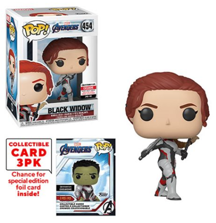 Black Widow (w/Trading Cards, Endgame) 454 - Entertainment Earth Exclusive