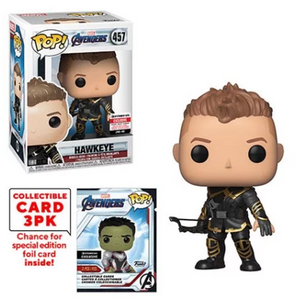 Hawkeye (w/Trading Cards, Endgame) 457 - Entertainment Earth Exclusive