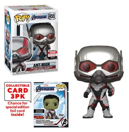 > Ant-Man (w/Trading Cards, Endgame) 455 - Entertainment Earth Exclusive