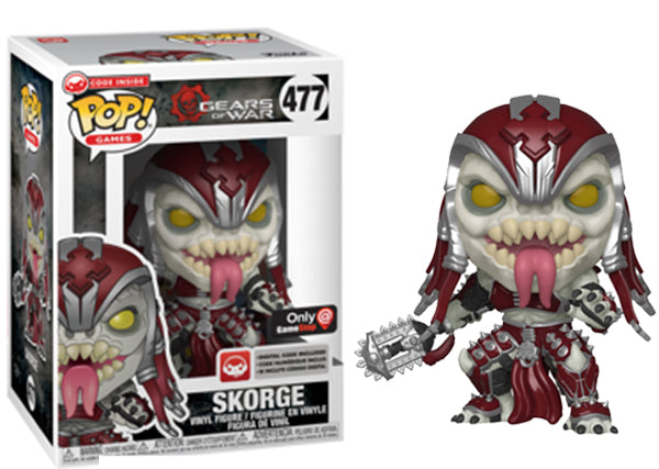 Skorge (Gears of War) 477 - GameStop Exclusive [Damaged: 7.5/10]