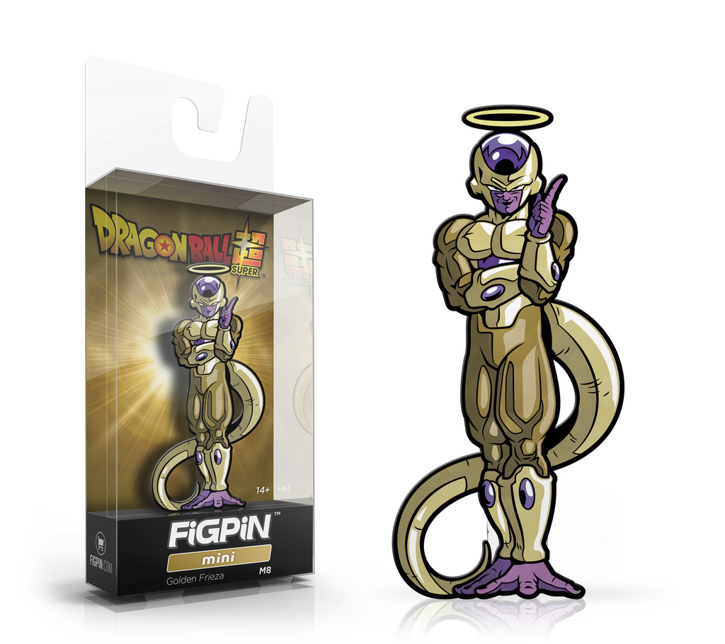 FiGPiN Dragon Ball Z- Golden Frieza Mini M8