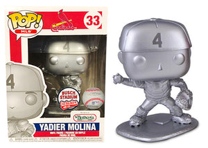Yadier Molina (Platinum, Catcher, St. Louis Cardinals, MLB) 33 - Busch Stadium Exclusive /400 made [Condition: 8/10]